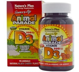 Animal Parade Vitamin D3 Children